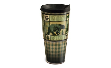 American Expedition 24 Ounce Lodge Series 2-Tier Tumbler e9844aa6-442a-41c7-bbb8-2af08f9bfb2b