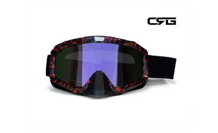 CRG Motocross ATV DIRT BIKE OFF ROAD RACING GOGGLES Adult T815-81-1A