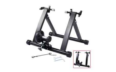 Indoor Exercise Bike Bicycle Trainer Stand W/ 5 Levels of Resistance d1550b29-c151-489c-9d87-6864f6bdc07e