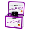 Twinlab Mega D3 Dots Tangerine - 5000 IU - 100 Tablets (Pack of 1 )