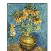 Vincent Van Gogh Crown Imperial Fritillaries Canvas Print