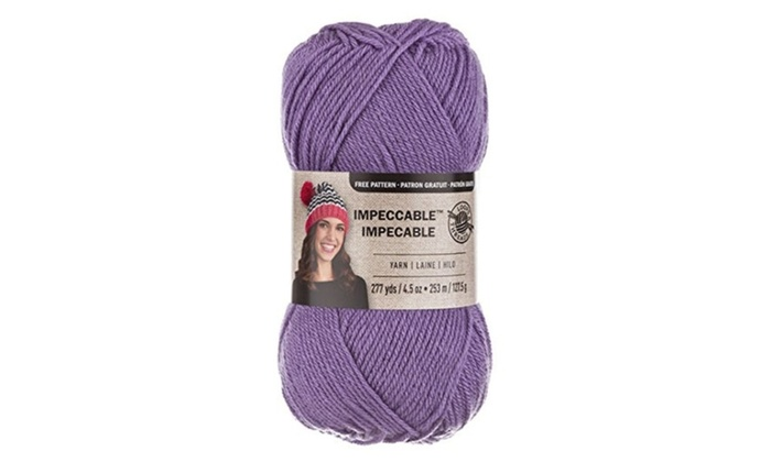 Loops Threads Impeccable Yarn 45 Oz One Ball Lavender Groupon