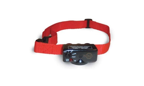 PetSafe Deluxe Dog Bark Control Collar Red 660d1644-9ebb-4291-a102-e5285fe14ee0