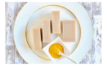 Turmeric Oatmeal Honey Face Wash Soap
