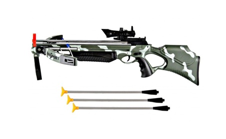 "30"" Crossbow Toy Pretend Deluxe Action Military Set with Scope 3f4c3d59-09af-42dc-8fe9-ba92b20d97be"