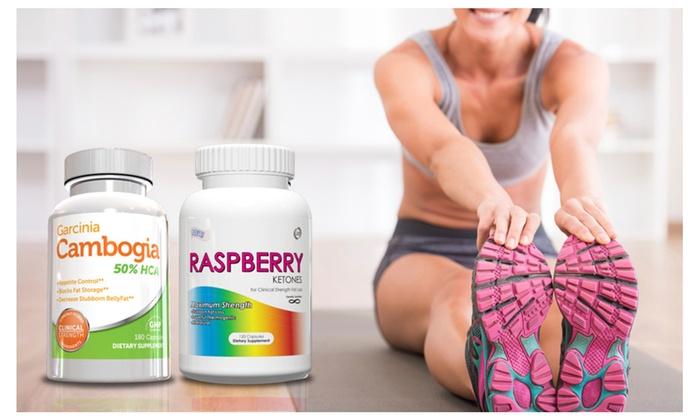 Buy It Now : Garcinia Fat Burner & Raspberry Ketones Stack