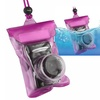 Insten Digital Camera Waterproof Case Dry Bag(with Rope)- Hot Pink