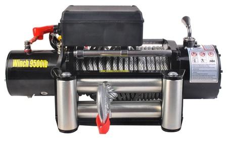 9500lbs 12V Electric Recovery Winch Truck SUV Wireless Remote Control ea94d567-aaf6-4416-88c5-1905bbf88f3e
