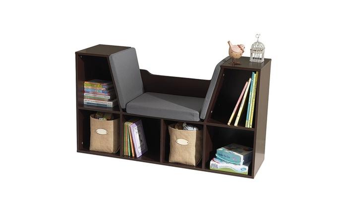 Sugar & Tots : KidKraft Bookcase with Reading Nook Toy Espresso - KidKraft Bookcase With Reading Nook Toy Espresso Groupon