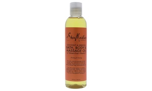 Shea Moisture Coconut & Hibiscus Bath-Body & Massage Oil Firming & Toning Oil