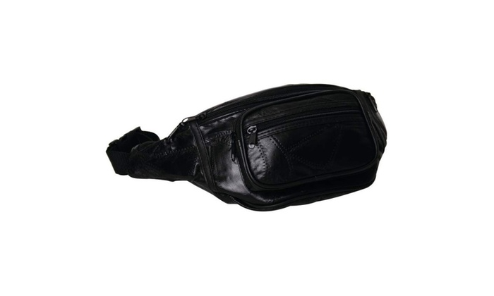 Soft Genuine Lambskin Leather Fanny Pack