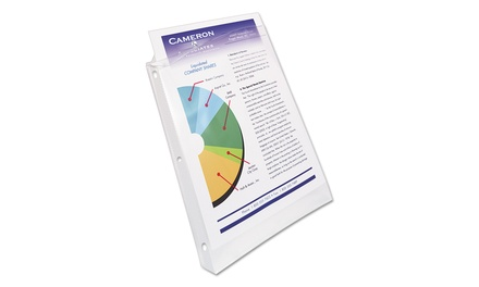 Up To 17 Off On Avery Top Load Poly Sheet Pro