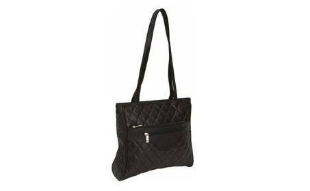 Italian Stone Design Genuine Leather Black Purse (Goods Women's Fashion Accessories Handbags) photo