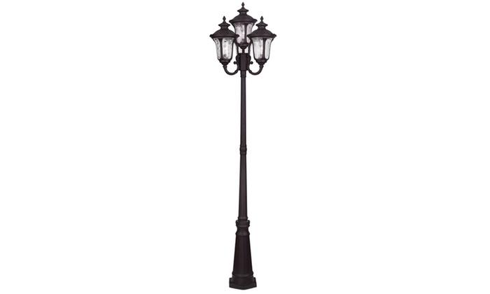 Oxford 4-Light Bronze Post Light