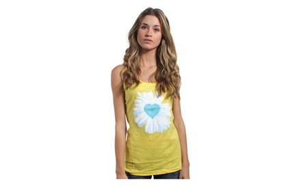 Daisy Heart Tank Top