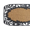 Vines and Leaves Border Welcome Doormat Entry Mat