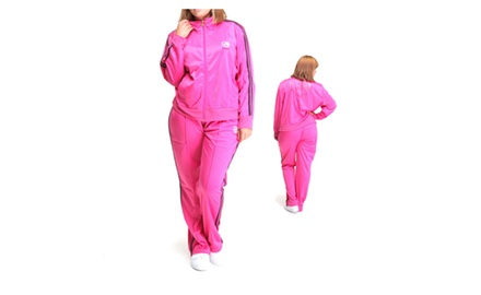Ecko Plus Size Tracksuit with Stripe Detail