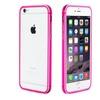 Insten Aluminum TPE Bumper For Apple iPhone 6 Plus Hot Pink