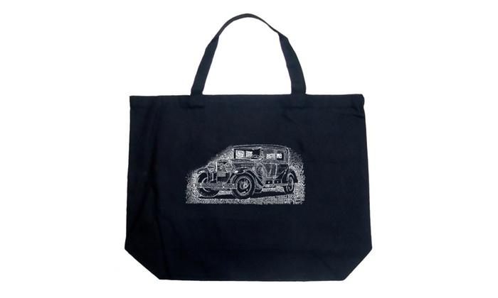 Large Tote Bag - Legendary Mobsters