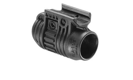 """FAB Defense 1-1/8"""" Tactical Light/Laser Adapter Black e6d60230-b23c-48db-af11-5f47e7d05ad7"""
