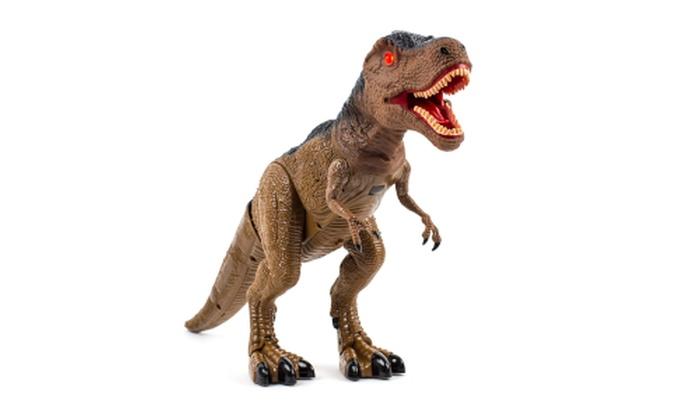 Advanced Play Dinosaur Trex Toy Realistic Walking Tyrannosaurus Rex