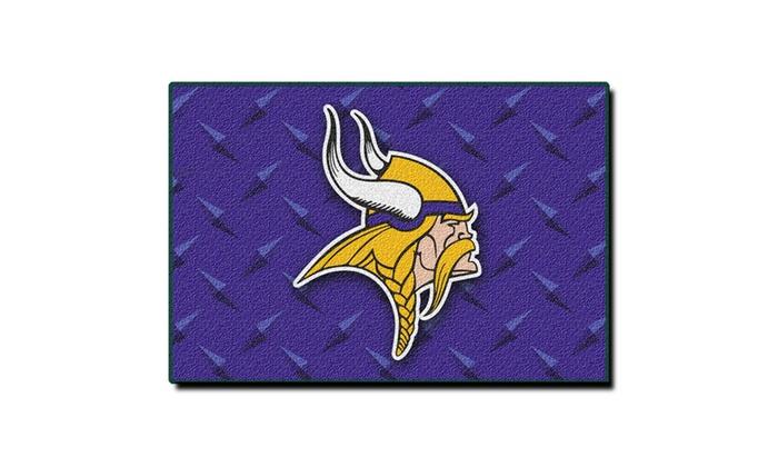 NFL 333 Vikings 20x30 Rug