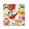 Lisa Audit Rainbow Garden III - Cream Canvas Print