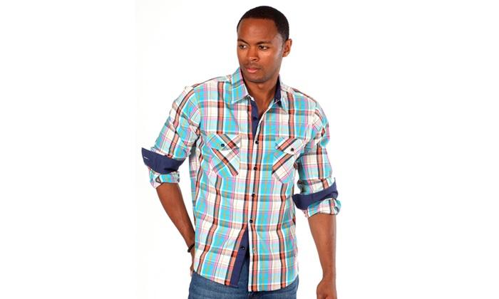 Something Strong Men's 'Something Blazon' Plaid Shirt