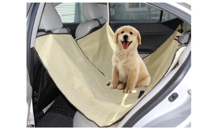 Waterproof Pet Car Seat Hammock Cover Back Rear Protector Mat