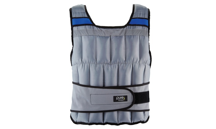 Pure fitness weighted vest beige open front vest duster outfits
