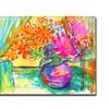 Wendra Window Bouquet Canvas Print