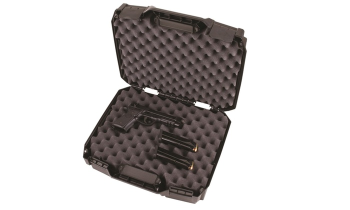 Flambeau Tactical Series Double Deep Pistol Case – Black