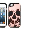 Insten Skullcap Hybrid Silicone Case For iPod Touch 5 6 Rose Gold BLK