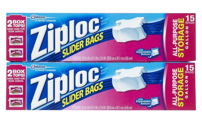 Ziploc Easy Zipper Storage Bags Gallon Size (Pack of 12)  sc 1 st  Groupon & Ziploc Easy Zipper Storage Bags Gallon Size (Pack of 12) | Groupon