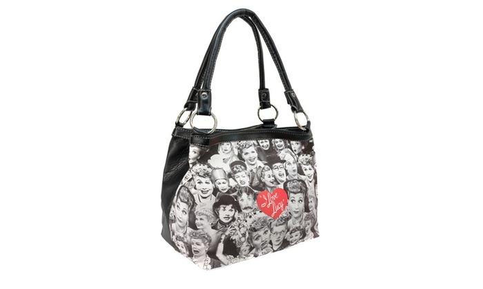 I Love Lucy Lucille Ball Clic Vintage Photo Handbag Wallet Set