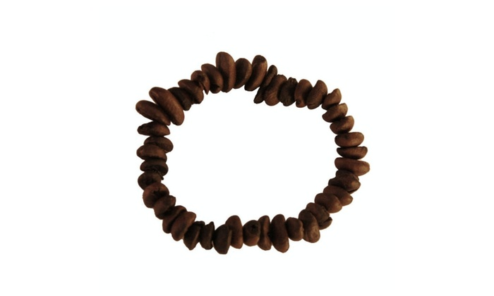 Cafe The Original Real Coffee Bean Bracelet