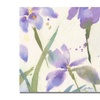 Sheila Golden Purple Iris Canvas Print