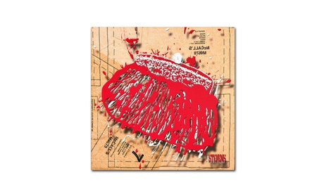 Roderick Stevens 'Snap Purse Red' Canvas Art (Goods For The Home Prints & Decals) photo