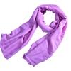 Zodaca Purple Women Men Cotton Pashmina Scarves Shawl Wrap Scarf