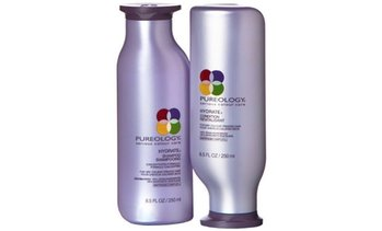 Pureology Hydrate Shampoo and Conditioner (8.5oz or 33.8oz)