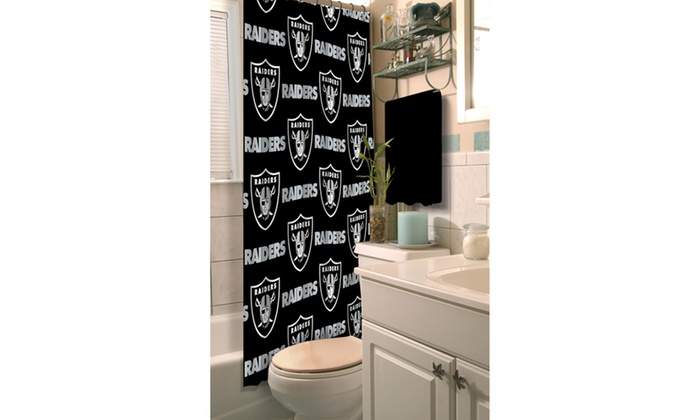 NFL 903 Raiders Shower Curtain