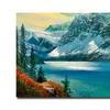 David Lloyd Glover Majestic Bow River Canvas Print