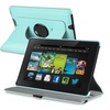 Insten Baby Blue 360 Leather Case Stand For Kindle Fire HD 7 2nd Gen