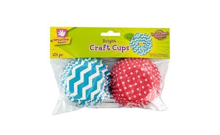 Bright Print Paper Craft Cups 5e62f91d-f71c-49e9-aa4f-51f625e7eac8