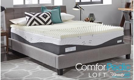 """ComforPedic Loft from Beautyrest - 3"""" Memory Foam - 3 Zone Topper"""