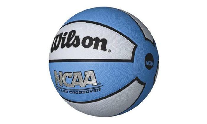 Wilson NCAA Killer Crossover 28.5″ Carolina Blue Basketball