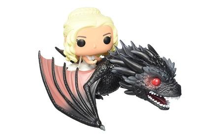 GAME OF THRONES Daenery Riding Dragon Cute Action Figure Model Toys 4537f76b-ec6b-46ee-aa01-e10b8bf41b9f