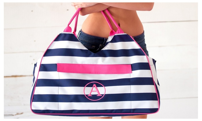 Personalized Beach Bag in 3 Various Patterns