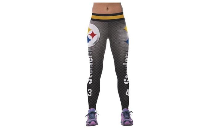 4PING Women's Digital Printed Sports Pants Fitness Pants Yoga Leggings