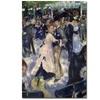 Pierre-Auguste Renoir 'Le Moulin de la Galette' Canvas Art